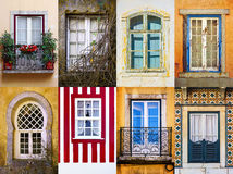 Set of Windows Stock Images