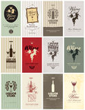 Set of Wine Royalty Free Stock Photo