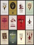 Set Wine Stock Photo
