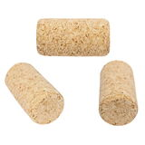 Set wine corks isolated Royalty Free Stock Photos