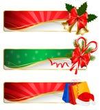 Set of winter christmas banners. Vector. Illustration stock illustration