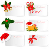 Set of winter christmas banners. Vector. Illustration Stock Photos