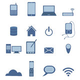 Set of Wireless icon Stock Images