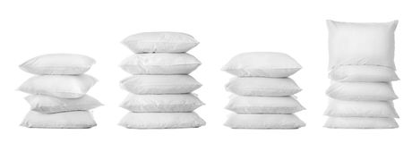 Set With Bed Pillows Stock Photography