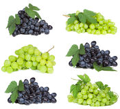 Set With Grape Royalty Free Stock Photo