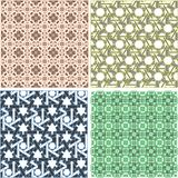Set With Pattern In Arabian Style. Vintage Sign Stock Photography