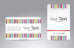 Set wizyt karty dla twój biznesu Obraz Royalty Free