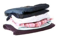 Set of woman clothes Stock Image