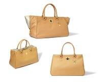 Set of woman's bags Stock Photos