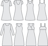 Set of woman's wear Stock Image
