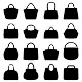 Set of women bags,  illustration Stock Photos