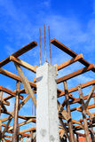 Set of wood pine timber for New Home Construction Stock Photography