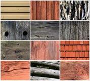 Set of Wood texture Stock Photo