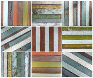 Set of wood texture background Royalty Free Stock Photo