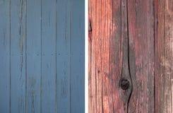 Set of wood texture background Stock Image