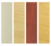 Set of wood texture samples Royalty Free Stock Image