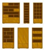 Set of wooden furniture Stock Image