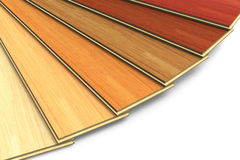 Set of wooden laminated construction planks vector illustration