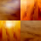 Set wooden structure. Different shades of a tree Stock Image