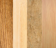 Set of wooden texture close-up Royalty Free Stock Photo