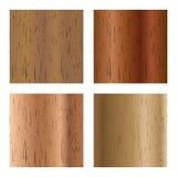 Set of wooden textures, vector illustration Stock Photo