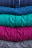 Set of woolen clothes Royalty Free Stock Photography