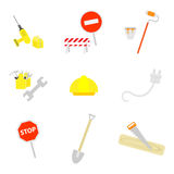 Set of work icons Royalty Free Stock Photography