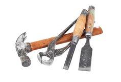 Set of work tool Royalty Free Stock Photo