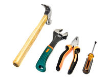 Set of work tools Royalty Free Stock Photos