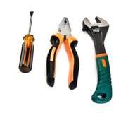 Set of work tools Stock Photo