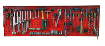 Set of the working tools Royalty Free Stock Photos