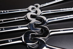 Set wrench Royalty Free Stock Images