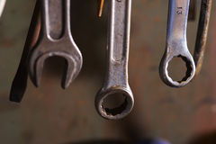 Set of wrench Stock Images