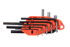 Set of wrench screwdrivers-1 Royalty Free Stock Image