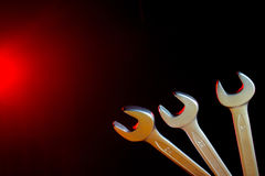 Set of wrenches Royalty Free Stock Photography