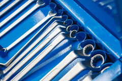Set of wrenches tool Royalty Free Stock Image