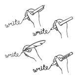 Writing hand Royalty Free Stock Image