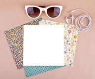Set wzoru papier Zdjęcie Royalty Free