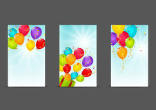 Set of 240 x 400 banners Stock Image