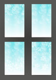 Set of 240 x 400 Christmas banners Royalty Free Stock Image
