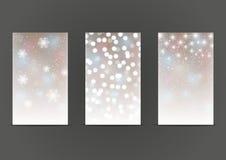Set of 240 x 400 shiny banners Stock Photo