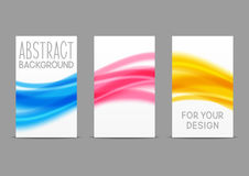 Set of 240 x 400 size vertical banners Royalty Free Stock Photos