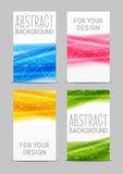 Set of 240 x 400 size vertical banners Stock Photos