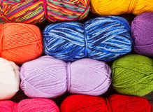 Set of yarn Stock Images