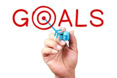 Set Your Goal Royalty Free Stock Photo