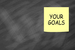 Set your goals royalty free stock images
