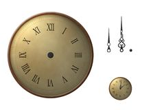 Set your time. Rotate and move the clock hands to create a clock at your desired time, as shown in the example Stock Photo