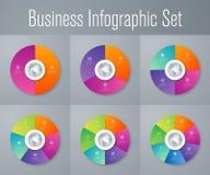 Set z infographics Zdjęcie Royalty Free