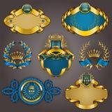 Set złoto vip Obrazy Royalty Free