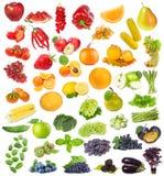 Set z owoc, jagodami i ziele Obrazy Royalty Free